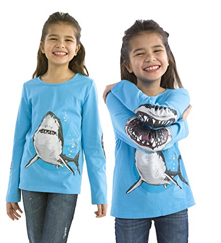 Chompomorphous Wild Tee, in Shark, Size 6 (Shark Tees compare prices)