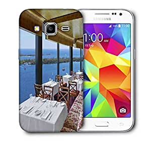 Snoogg Restaurent Printed Protective Phone Back Case Cover For Samsung Galaxy CORE PRIME