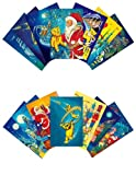 Santa's Collection Greeting Cards: Santa's Collection 12 pack with envelopes