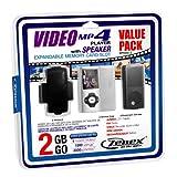 Zenex MP5556-2 2 GB MP4 Video Player, Silver
