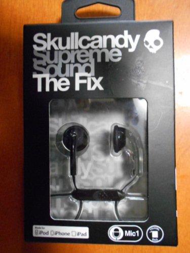 Skullcandy Fix 3.5Mm Ear Buds With Mic (Black)