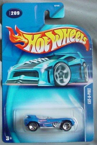 Hot Wheels 2003 Cat-a-pult #209 BLUE