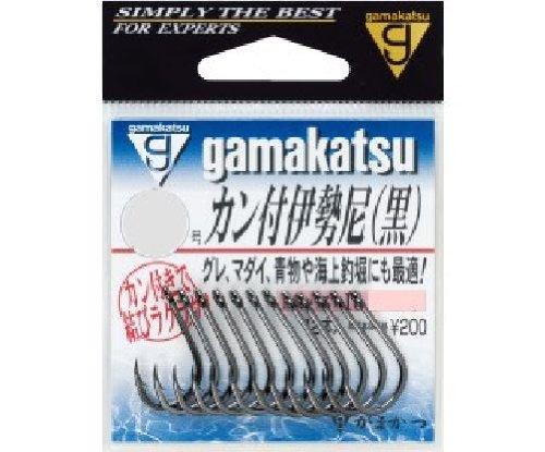 がまかつ(Gamakatsu) バラ カン付伊勢尼(黒) 12