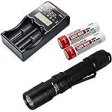 ThruNite® TN12 Taktische LED-Taschenlampe: 1050 Lumen, 5 verschiedene Lichtstufen, Wasserfest
