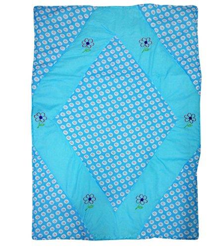 Wonderkids Floral Print Baby Quilt
