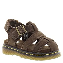 Dr. Martens Baby Boy\'s Moby Brown Sandals 3 M UK, 4 M