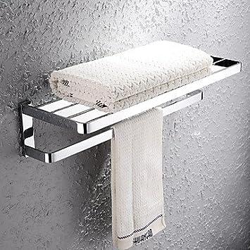 Gaw Home zeitgenössische verchromt Messing Bacchetta Handtuchhalter