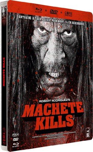 Machete Kills - Edition limitée Steelbook Blu-Ray + DVD + Copie Digitale [Blu-ray]