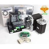 3 Axis Nema 34 Stepper Motor 1600 Oz.in & Driver Dm860a CNC Router