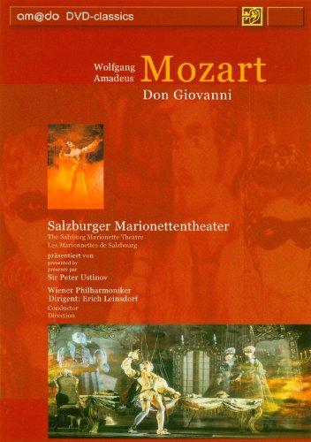 Mozart - Don Giovanni (Ustinov, Salzburg Marionette Theatre) [DVD]