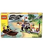 #10: Saffire Pirates Shipwreck Defence Building Block Set, Multi Color