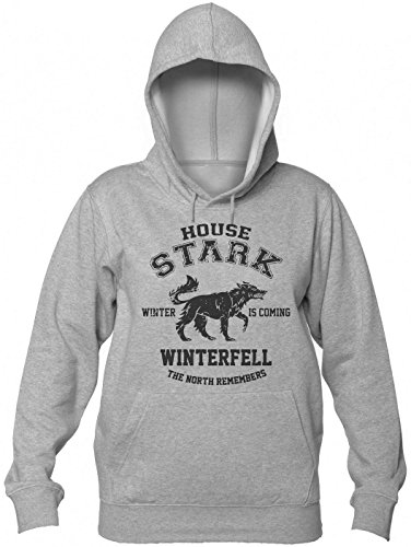 House Stark Highschool Style Logo Women's Hooded Sweatshirt Small