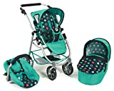 Bayer Chic 2000 637 21 - Kombi-Puppenwagen 3-in-1 Emotion All