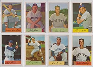 Buy Boston Red Sox 1954 Bowman Baseball Team Set (Original Cards) (Jackie Jensen) (Hoot Evers) (Sammy... by Bowman