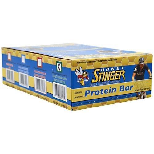 Honey Stinger 10g Protein Bars, Box of 15 - Dark Chocolate Mint