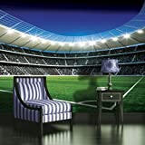 Photo Wallpaper, Incl. Paste, FOOTBALL STADIUM 324 368cm (BREIT) x 254cm (HOCH)