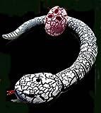 超リアルなラジコン蛇!!!サプライズやイベントに大活躍!!!!くねくねリアル 卵型リモコン ヘビラジ◇AZ-SNAKERC-WH