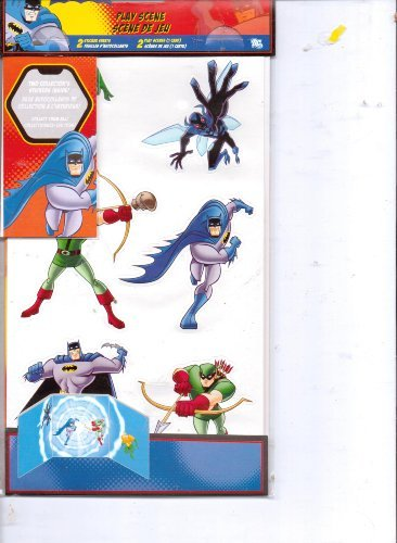 Batman the Brave & the Bold Team Up Acid-Free Stickers