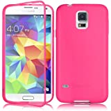 Swees® Housse Samsung Galaxy S5 Coque Etui Plastique Case TPU + PC, (Rose)