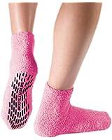 Non Skid / Anti Slip Grip Socks For Women / Mens Non Slip Grip Socks - Hospital