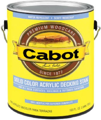CABOT STAIN 41807 DEEP BASE SOLID COLOR DECKING STAIN WITH SURFACE PROTECTOR SIZE:QUART. (Decking Paint compare prices)