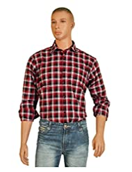 Accoy Men Checkered Casual Shirt 116F