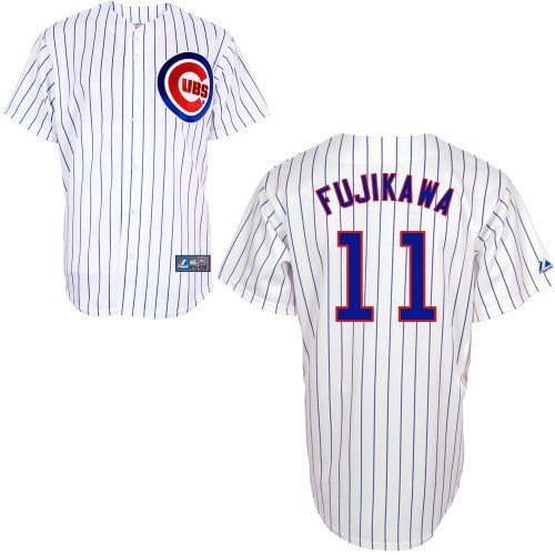 Kyuji Fujikawa Chicago Cubs Home Replica Jersey by Majestic Select Size: Medium at Amazon.com