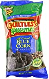 Guiltless Gourmet Organic Baked Tortilla Chips, Blue Corn, 7-Ounce Bags (Pack of 12)