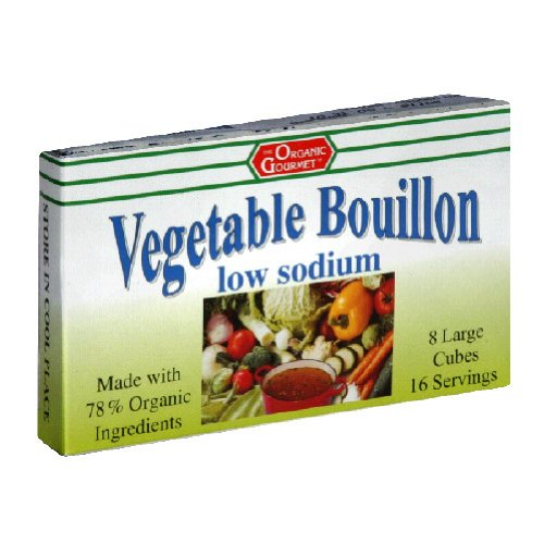 Organic-Gourmet-Vegetable-Bouillon-Low-Sodium-8-Cubes-Pack-of-12