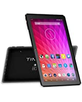 Time2® 10 pollici Tablet PC con WiFi - Android Lollipop 5.0 - 16GB di memoria espandibile fino a 32GB - tablet MTK con tecnologia GPS - HD 1024 * 600 schermo Crystal Clear - potente veloce processore Quad-Core Mediatek CPU - Google Appstore precaricato - Massive 6000mAh Batteria - 1GB di RAM - Bluetooth 4.0 - esterno 3G Connectivity con Dongle (venduto separatamente) - Nero