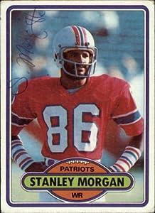Amazon Com Stanley Morgan Patriots Signed Football Card