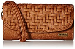 Roxy Playa Blanca Wallets Clutch, Camel, One Size