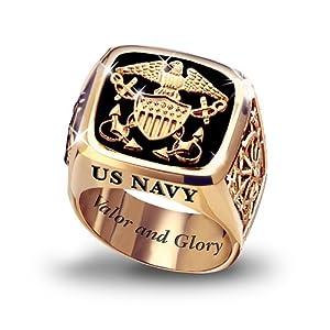 u s navy s ring by the bradford exchange