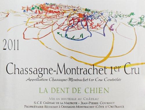 2011 La Dent De Chien, Chassagne-Montrachet 1Er Cru 750 Ml