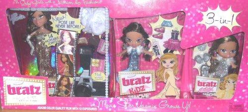 Bratz Yasmin Movie Star Yasmin Grows Up - 3-in-1 Doll and Accessory Set - Buy Bratz Yasmin Movie Star Yasmin Grows Up - 3-in-1 Doll and Accessory Set - Purchase Bratz Yasmin Movie Star Yasmin Grows Up - 3-in-1 Doll and Accessory Set (Bratz, Toys & Games,Categories,Dolls,Playsets,Fashion Doll Playsets)