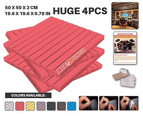 ace-punch-4-pezzi-wedge-cuneo-autoadesiva-schiuma-acustica-pannello-isolamento-acustico-diffusore-ac