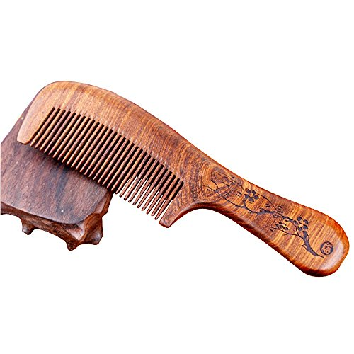 sunmoch-coffee-sandalwood-comb-style-20cm-the-long-handle-wooden-carving-wooden-comb-hot-sale