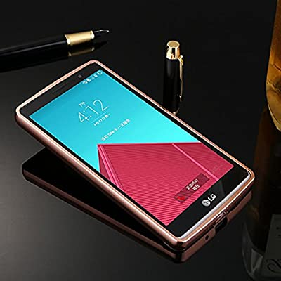 LG G Stylo Case, LG G Stylus Case, TabPow Mirror Case Series - Electroplate Bumper Bling Luxury Slim Hard Back Case Cover For LG G Stylo / LG G Stylus (LS770) from TabPow