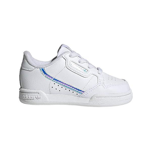adidas Originals Baby Continental 80 EL Sneaker, WhiteBlack