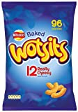Walkers Cheese Wotsits Crisps 12 Pack (Pack of 6)