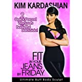 KIM KARDASHIAN Fit in Your Jeans by Friday 2 Quick-Paced Workouts to a Beautiful Backside! [DVD]