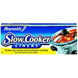 Reynolds Metals 00504 Slow Cooker Liners 13X21, 4 LINERS