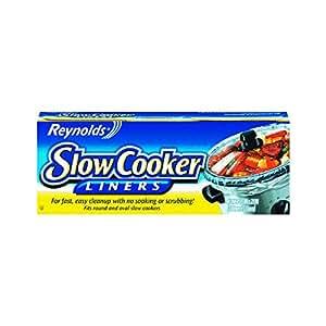Reynolds Metals 00504 Slow Cooker Liners 13X21, 4 LINERS