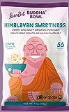 Lesser Evil, Buddha Bowl, Organic Popcorn, Himalayan, 7-Ounce Bag (Pack of 3) (Choose Flavor Below) (Himalayan Sweetness)