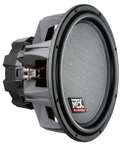 Thunder 8000 Series 15-Inch Dual 4-Ohm Round Subwoofer 600W RMS (Black)