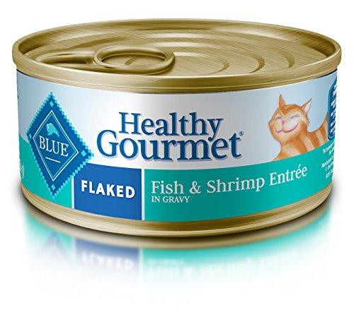 BLUE Buffalo Healthy Gourmet Flaked Fish & Shrimp Entrée For Adult Cats