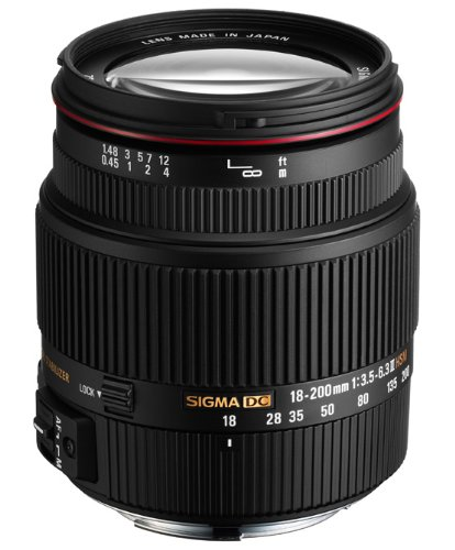 Sigma 18-200Mm F3.5-6.3 Ii Dc Os Hsm Lens For Sigma Slr Camera