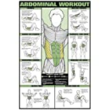 Algra Corporation NFC08-L Algra Corporation NFC08-L Abdominal Workout Laminated Fitness