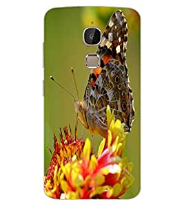 ColourCraft Beautiful Butterfly Design Back Case Cover for LeEco Le 2 Pro