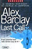 echange, troc Alex Barclay - Last Call